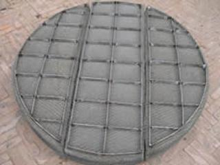 丝网除沫器是由哪些部件构成