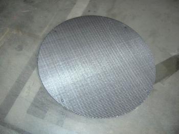 不锈钢过滤网用在地暖前置过滤器里面